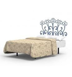 Tête de lit murale fer forgé Elodie