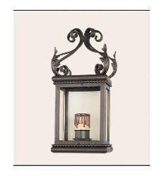Luminária de parede de ferro forjado Montilla