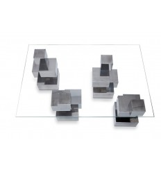 Mesa Cubos 4 patas