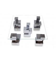 Mesa cubos cinco patas