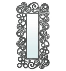 Specchio in ferro battuto modello Mundo