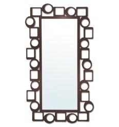 espejo vestidor de forja pop