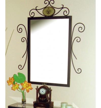 Specchio in ferro battuto Alba