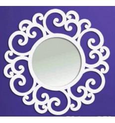 Spiegel aus Schmiedeeisen Circular