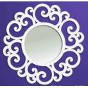 Specchio in ferro battuto Circular