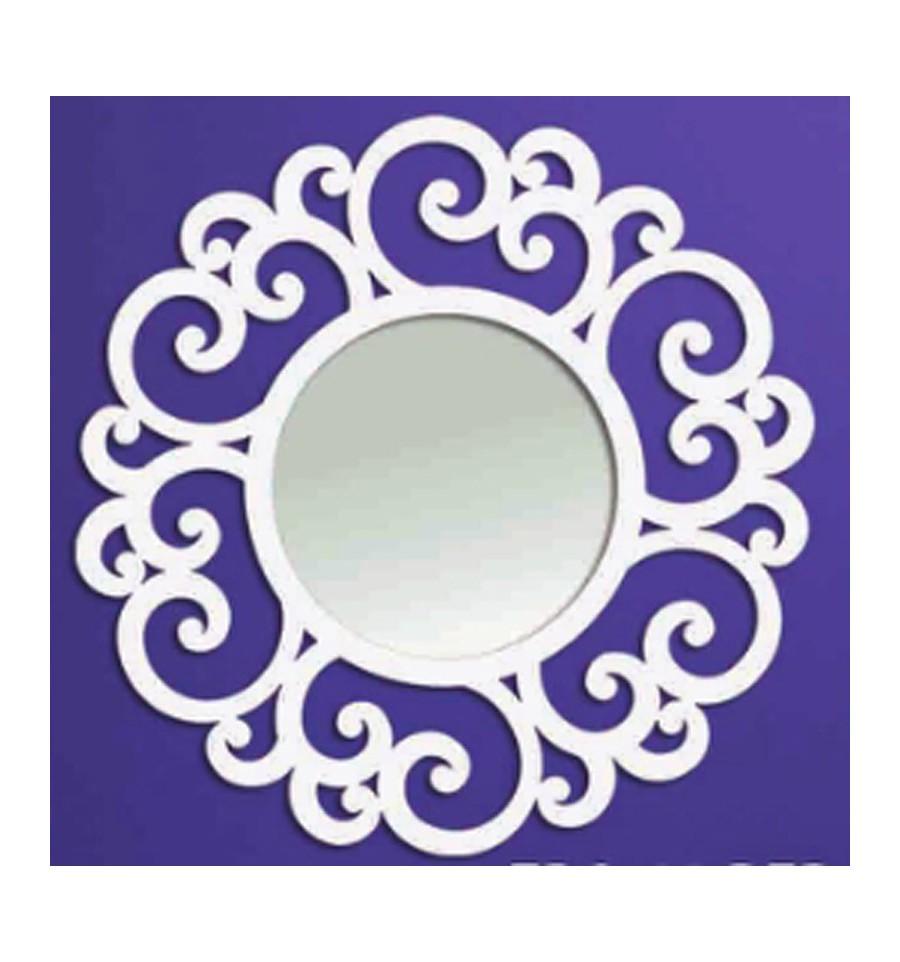 Espejo de forja circular for Espejo circular