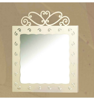 espejo de forja charlotte