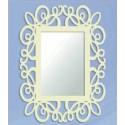 Specchio in ferro battuto Garabato