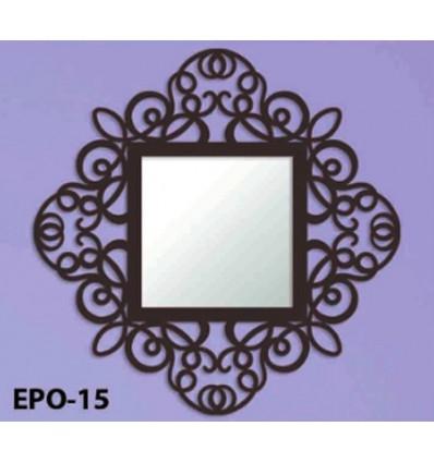 espejo de forja mandala