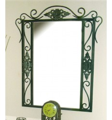 Specchio in ferro battuto Isabella