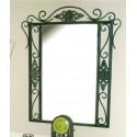 Spiegel aus Schmiedeeisen Isabella