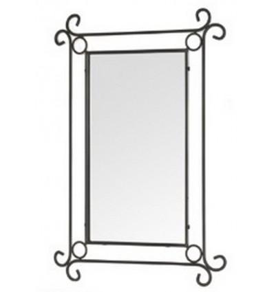espejo de forja nouveau