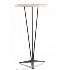 mesa velador de forja mojacar