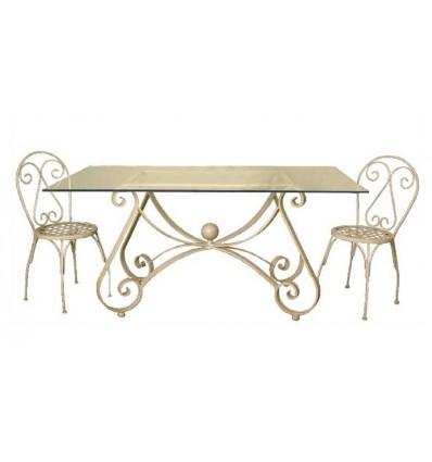 mesa de forja caracol
