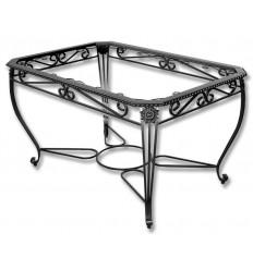 Mesa de ferro forjado Rústica