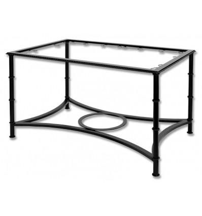 mesa de camilla elevable de forja