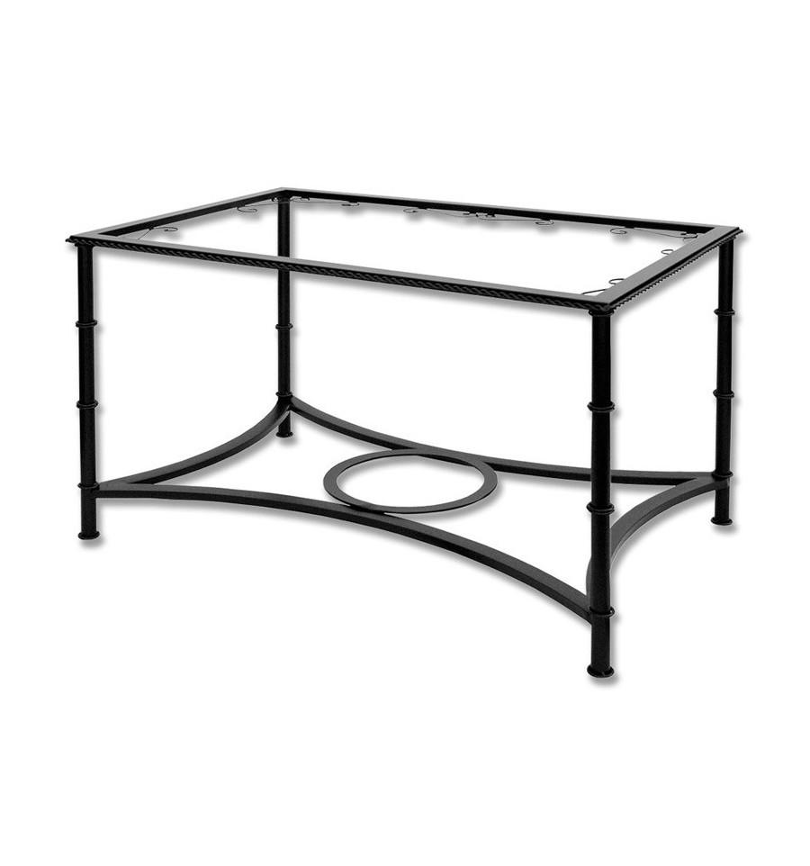 Mesa de camilla elevable de forja - Patas de forja para mesas ...