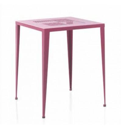 mesa velador de hierro