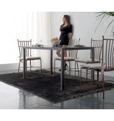 mesa de forja venecia