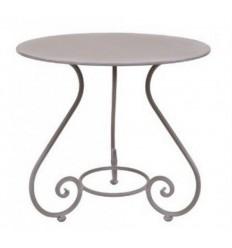 mesa de forja redonda vivaldi