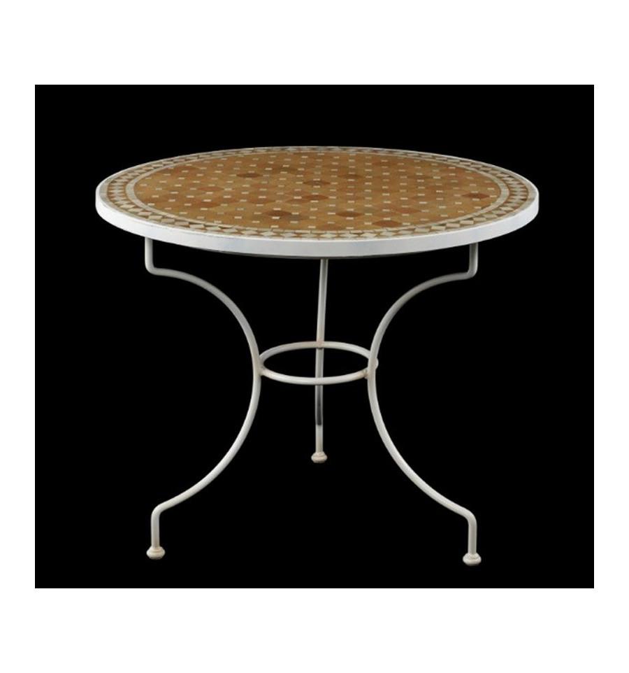 Pie de mesa en forja redondo country - Pies para mesas ...