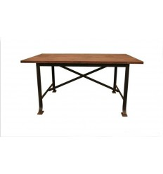 Tisch aus Schmiedeeisen Eiffel