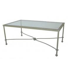 mesa de centro en forja carmen