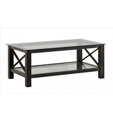 mesa de centro en forja country