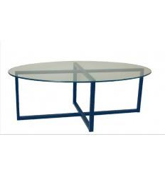 mesa de centro en forja loft