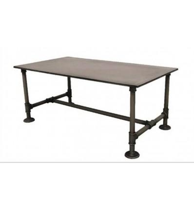 mesa de centro en forja mecano