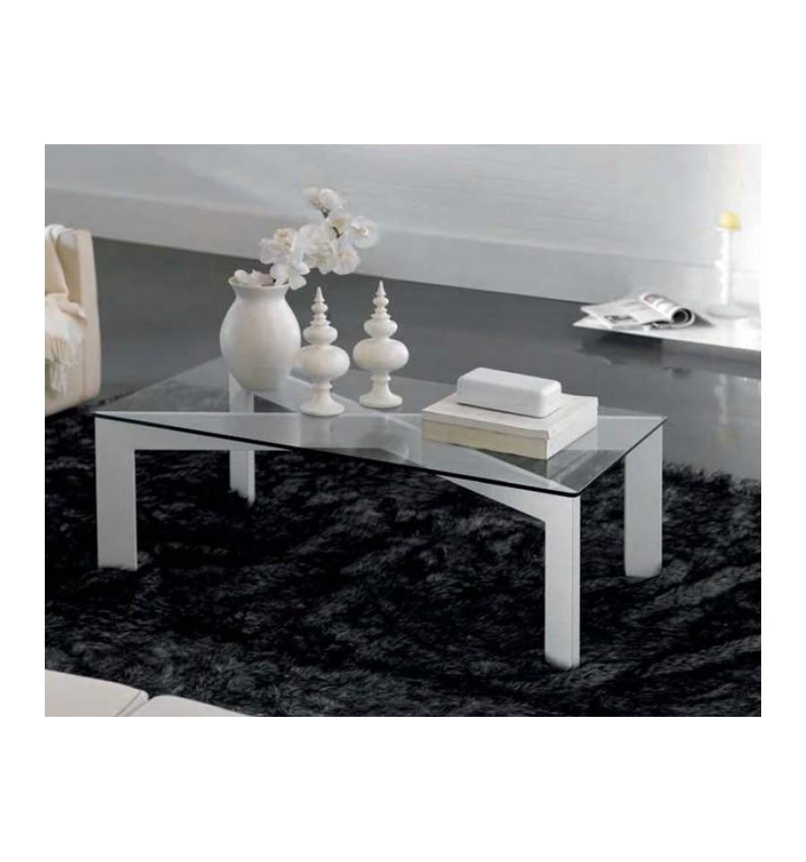 Mesa de centro en forja par s for Como decorar una mesa baja de salon