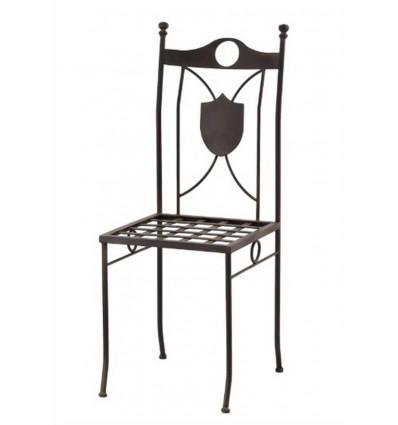 silla de forja escudo