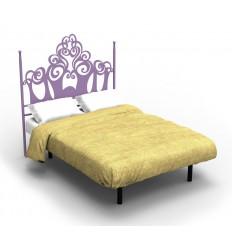 Tête de lit en fer forgé moderne Gizane