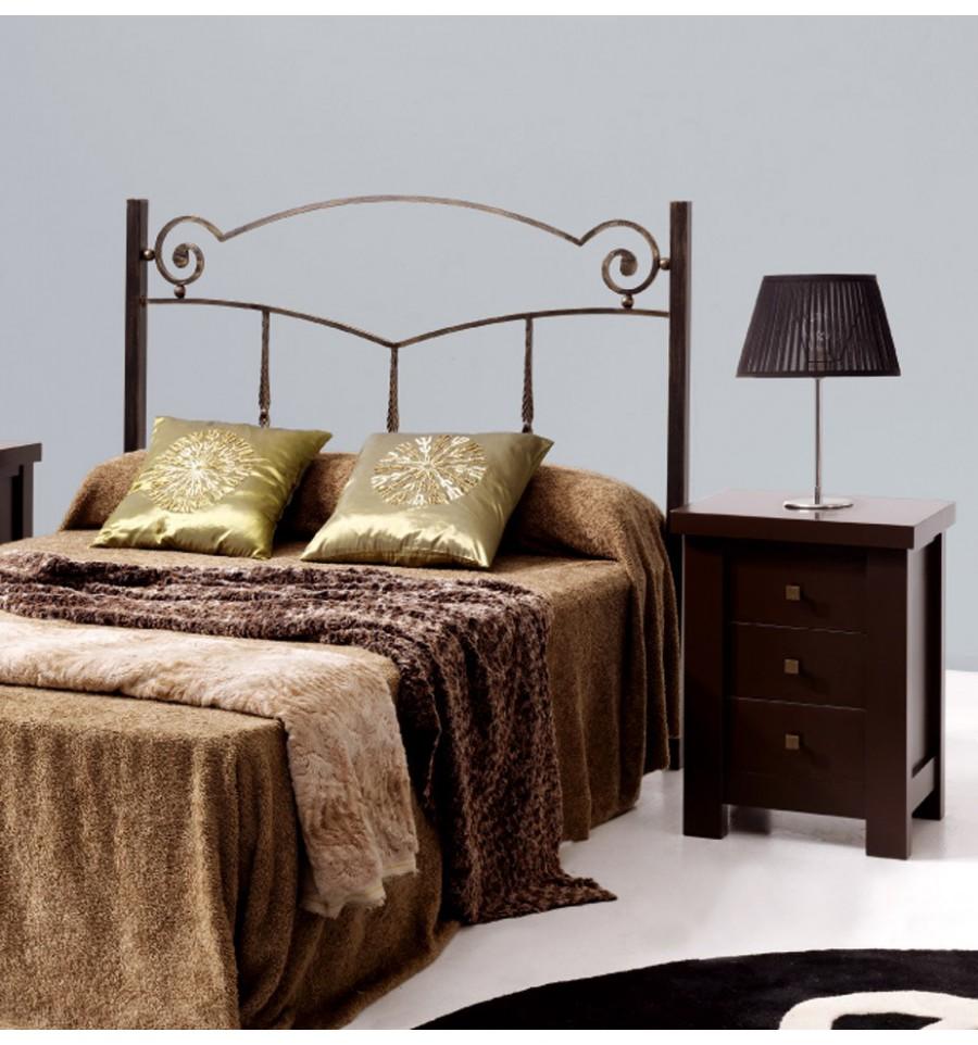 Cabecero de cama de forja mara - Cabeceros cama de forja ...