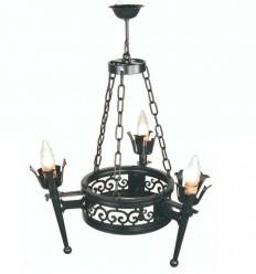 Lámpara rústica Berenice