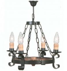 lampara rustica damari 3 luces