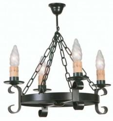 Lámpara rústica Damari II 3 luces