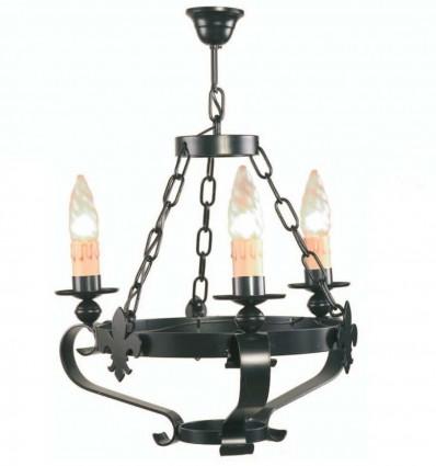 lampara galia 3 luces