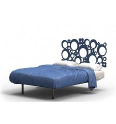 Tête de lit murale fer forgé Lina
