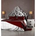 Tête de lit murale fer forgé Gizane