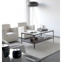 Tavolino da caffè industriale in ferro battuto Ronda