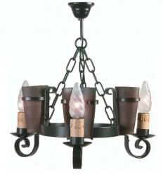 Lampe rustique Eunice