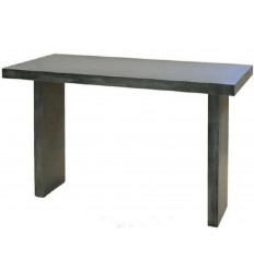 Mesa de metal Atamborada