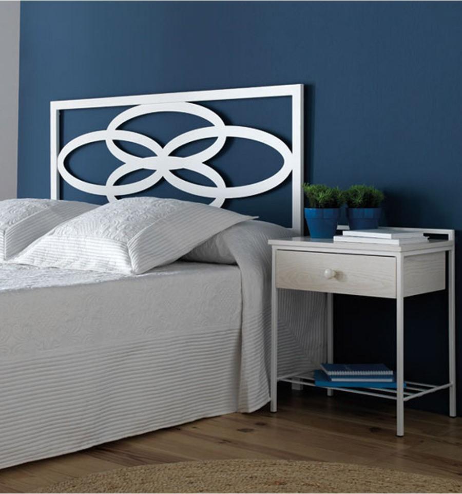 Cabecero moderno fabulous cabeceros de cama originales - Cabeceros forja modernos ...