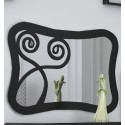 Spiegel aus Schmiedeeisen Nápoles