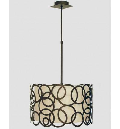 Lámpara de techo moderna Círculos