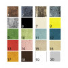 carta de colores mesas