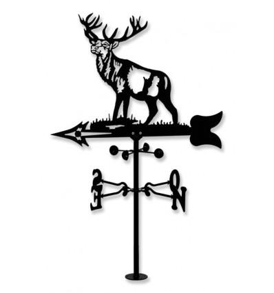veleta de viento ciervo