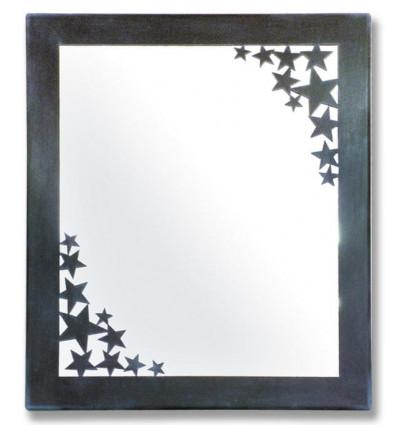 espejo de forja estrellas