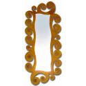 Specchio in ferro battuto espiral